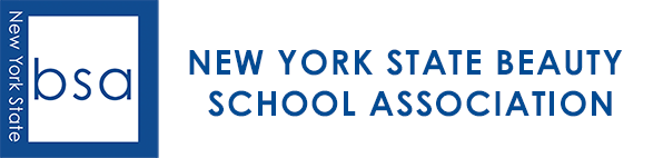 New York State Beauty School Association Logo